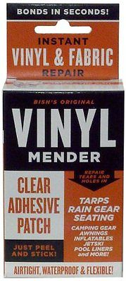Tear Mender BRT-1 Bish's Original Vinyl Mender Clear Adhesive Patches