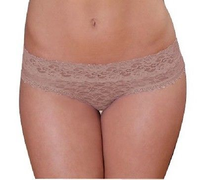 Coobie Undie Couture Lace Hipster 8284 Nude Small/Medium