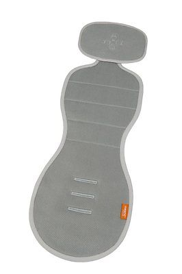 Meeno Babies Cool Mee Car Seat Liner Quick Silver One Size Fits Most 1-4 Years