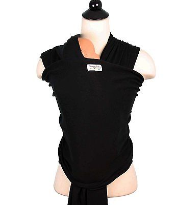 Snuggy Baby Wrap - Solid Black