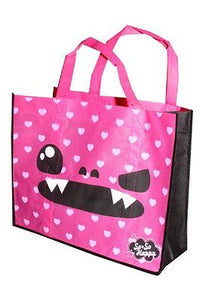 So So Happy Taco Reuseable Tote bag Pink New