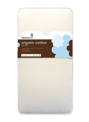 Naturepedic No Compromise Organic Cotton Classic Crib Mattress MC20