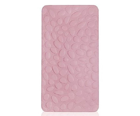 Nook Pebble Lite Crib Mattress, Light Pink Blush