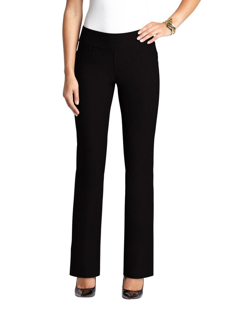 UR Rebel Women's Pull-On Straight Leg Pants Black Size 10