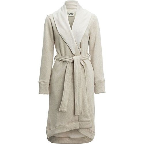 UGG Women's Duffield Robe Oatmeal Heather Medium