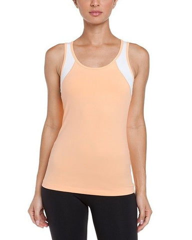 Cozy Orange Star Gazer Yoga Tank Tangerine Glow X-Large