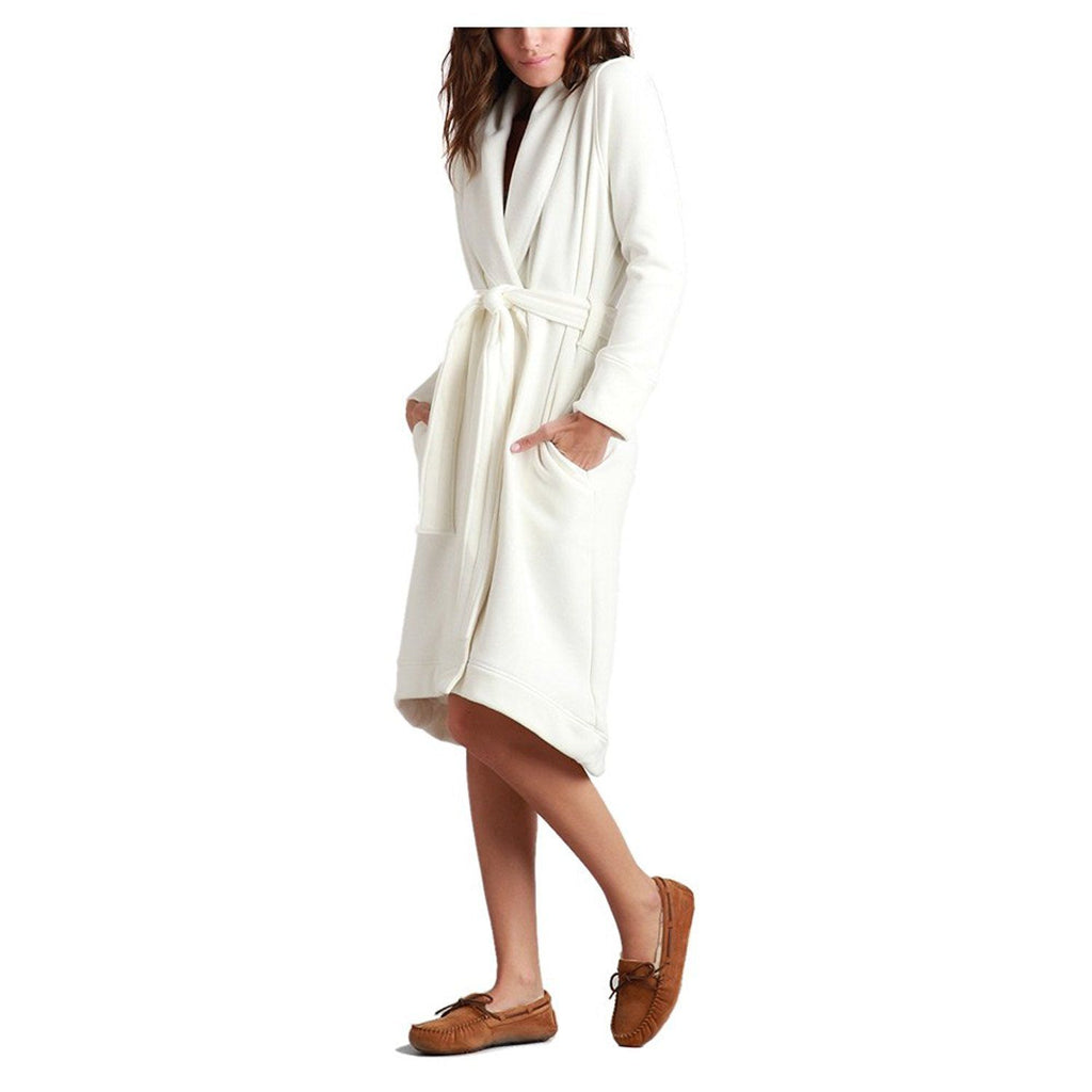 UGG Women's Duffield Robe Cream Large
