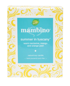 Mambino Organics: Summer In Tuscany Natural Soy Candle, 1 candle