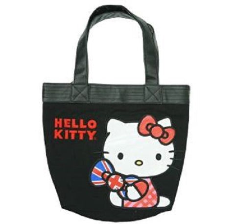 Loungefly Sanrio HELLO KITTY Tote, Black ( Limited Edition Only 1 Left )