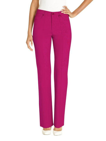 UR Rebel Womens Pant with Slimming Tummy Control 5302R Fushchia 10