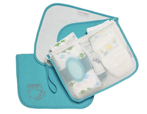 Mother Load Diaper Bag with Changing Pad - Blue