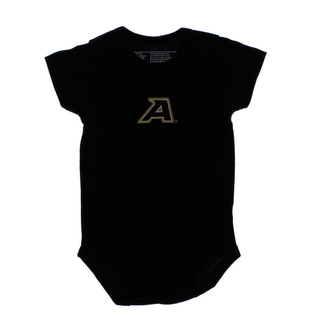Tiny Tailgater School Team Onesie (Black Army, 0-3 m)