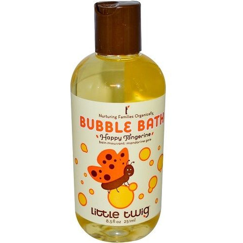 Little Twig All Natural Bubble Bath in Happy Tangerine