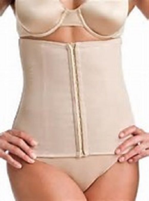 Miraclesuit Extra Firm Control Waist Cincher Look 10 lbs Lighter Nude Large