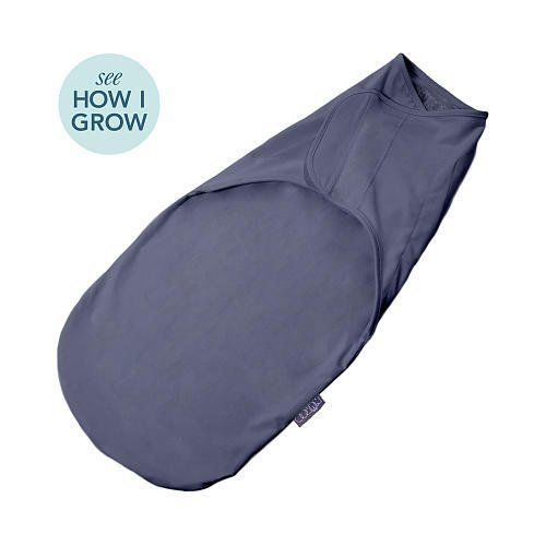 NuRoo Swaddler Grow-With-Me Design Compression Fabric Slate Blue One Size