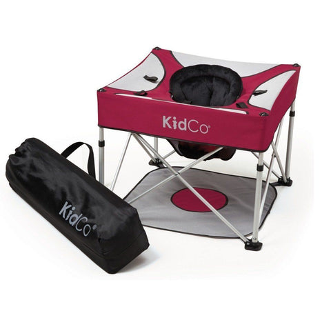 KidCo Go-Pod Plus Portable Folding Activity Seat P7100 Cranberry