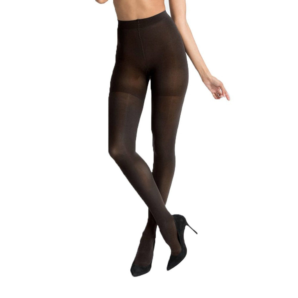SPANX Women's Luxe Leg Tights Charcoal A