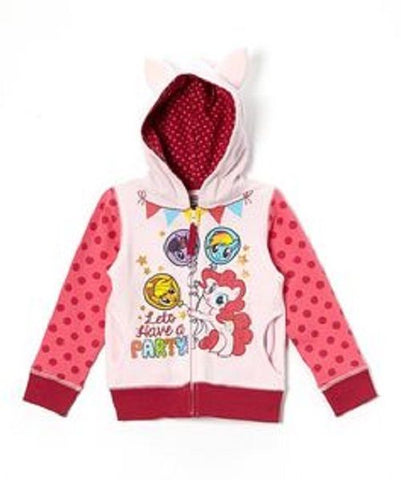 FREEZE Toddler My Little Pony Hoodie (2T, Pink)