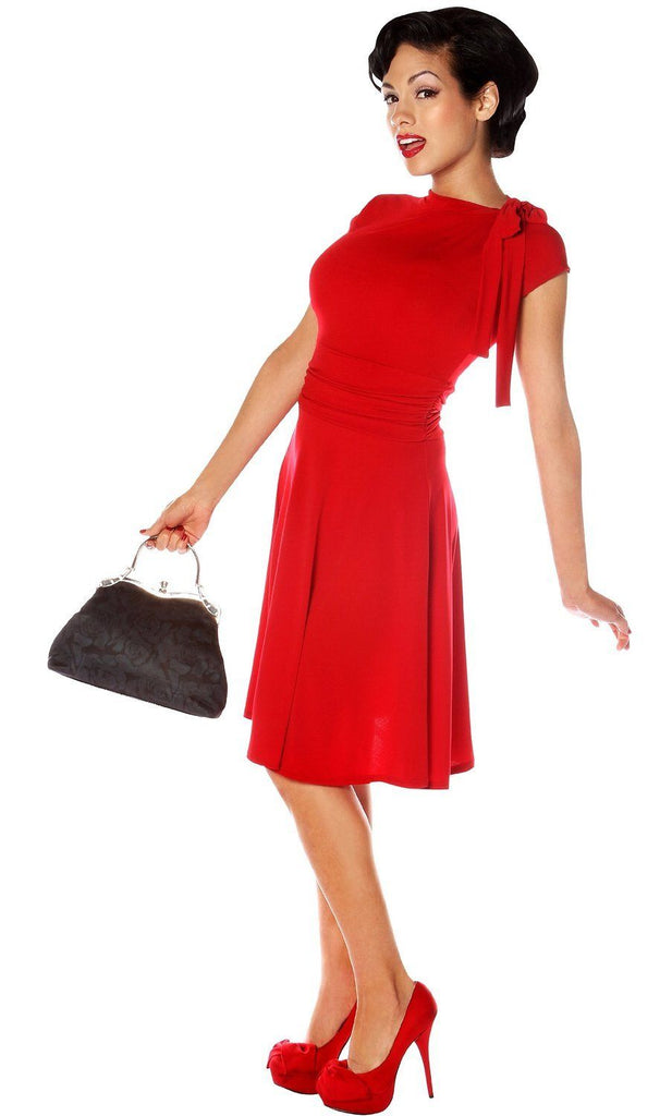 Folter Bridget Bombshell Dress Retro Pin-up Red