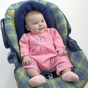 Snuggle-Soft Infant Support for Car Seat & Stroller Blue