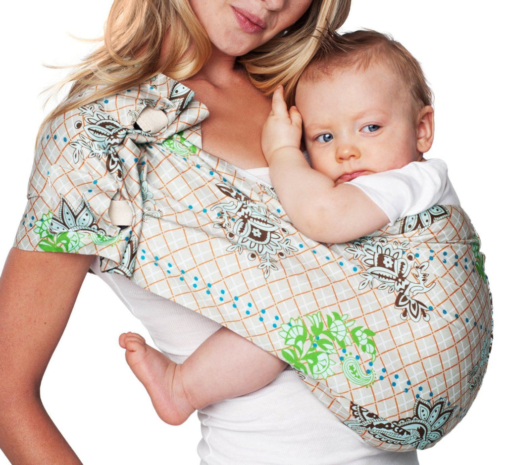 Hotslings Adjustable Pouch Baby Sling, Graham Cracker, Regular