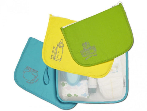 Mother Load Time on Your Side Gift Set: includes Diaper Bag, Snack Bag,& Toy Bag