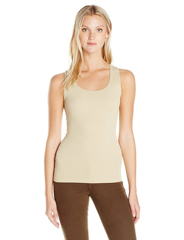 SugarLips Seamless Rib Tank Top 409 Ivory One Size