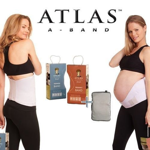Atlas 2-in-1 Pregnancy & Postpartum Band & Cold/Warm Compress Combo