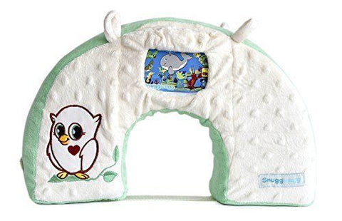 Snuggwugg Infant Toddler Wiggle Free Diaper Changing (Green Owl)