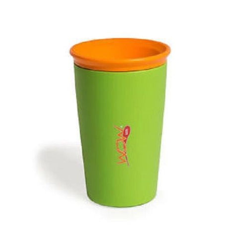 Wow Cup for Kids 360 Spill Free Drinking Cup BPA Free AS Seen On TV Green 9oz.