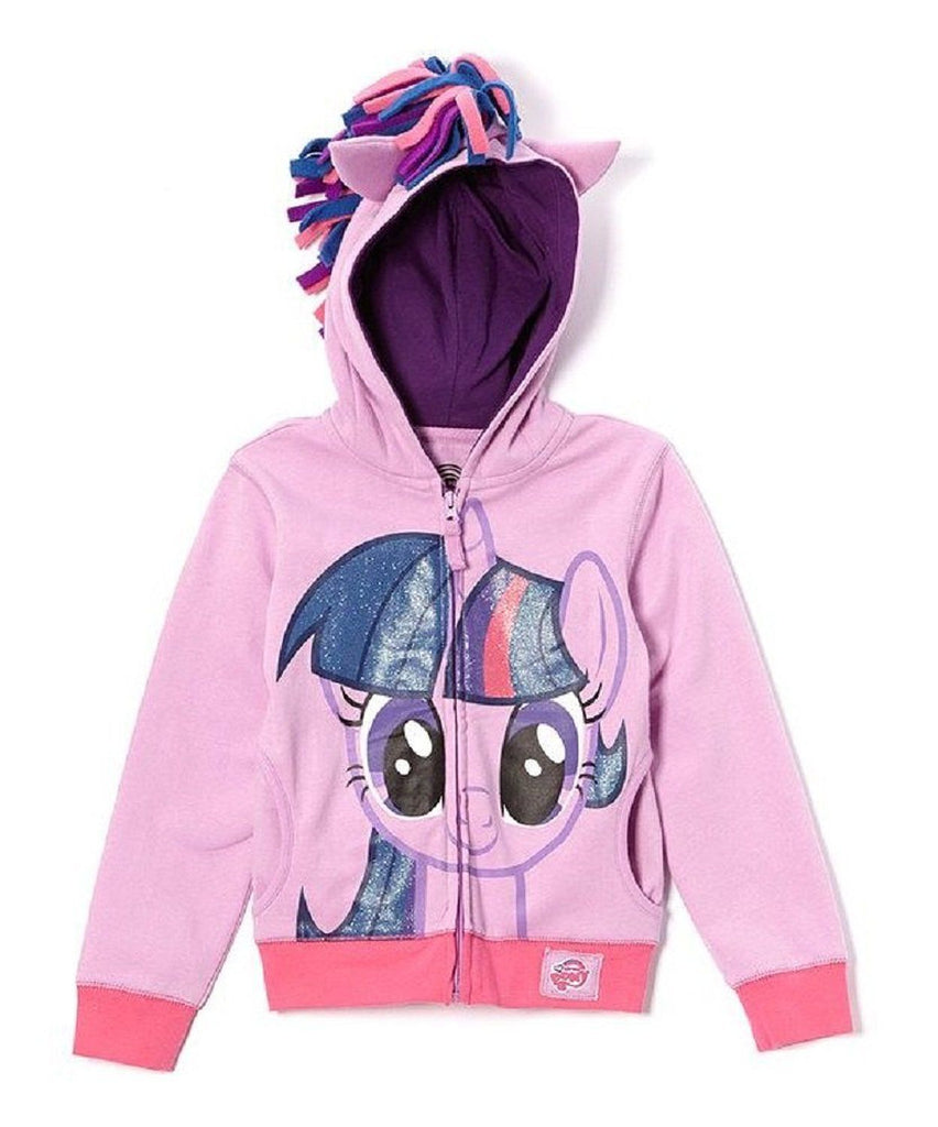 FREEZE My Little Pony Twilight Sparkle Girls Hoodie Purple Large 12/14