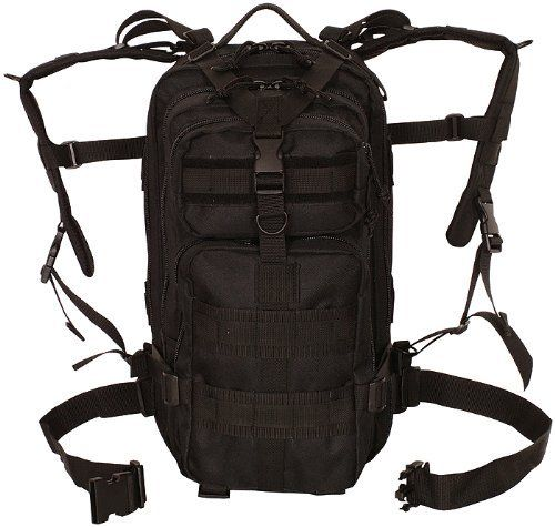 Tactical Medium MOLLE Military Transport Pack Backpack,18