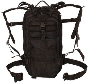 "Tactical Medium MOLLE Military Transport Pack Backpack,18"" x 10"" 10"",Black"