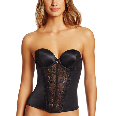 Jezebel Women's Caress Too Bustier Black 30533 36C