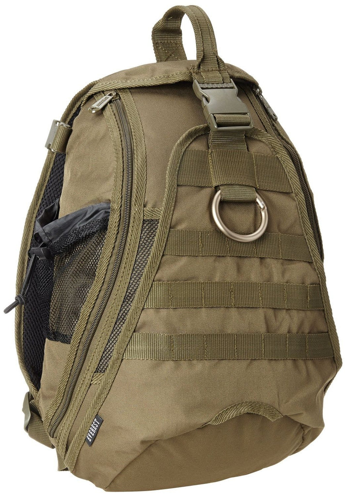 Everest Technical Sling Backpack Hydration Pack Compatible in Olive
