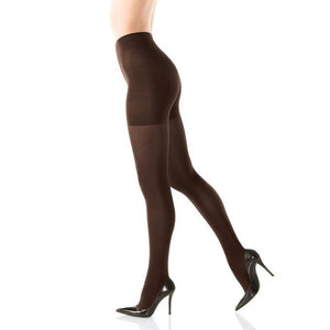 Spanx Tights Banded Tight-End Tights Shaping Opaque 128 Bittersweet Size E