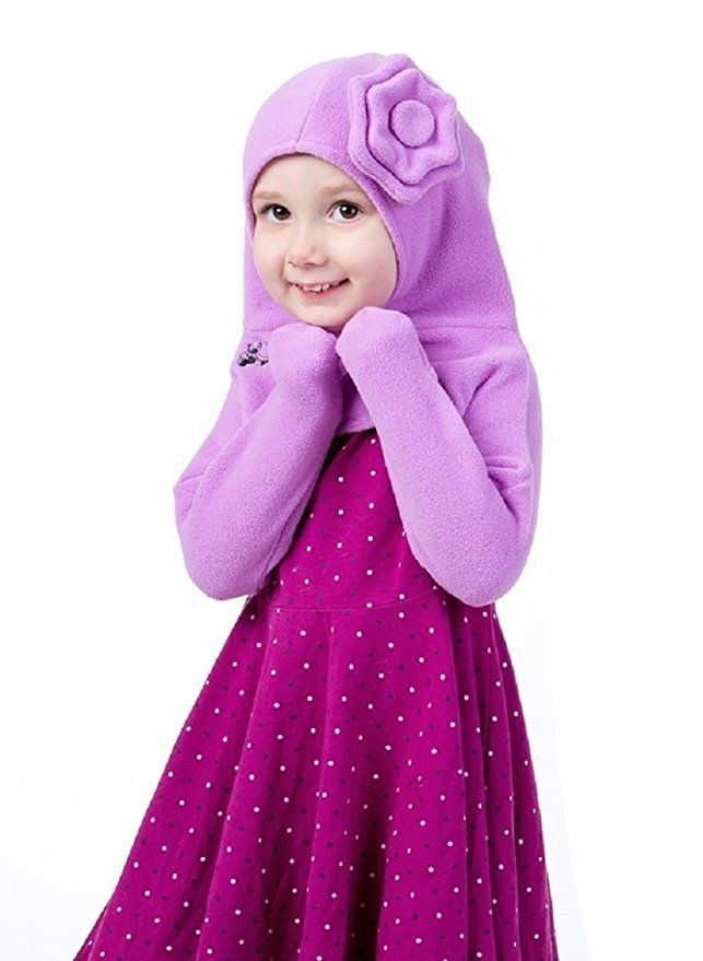 The Olie Minkey Baby Winter Garment (3T-4T, Purple Flower)