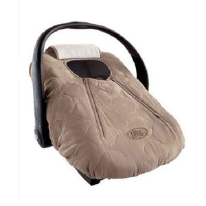 Cozy Cover - Infant Car Seat Cover (Beige Quilt)