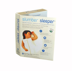 Slumber Sleeper Twin Size in Organic Cotton