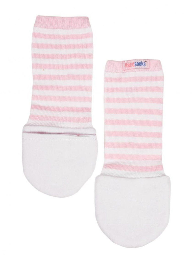 Handsocks Baby Warm No-Scratch Mittens by Handsocks Pink X-Small