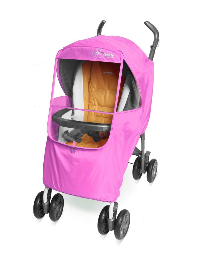 Manito Elegance Plus EPCV-45000 Stroller Weather Shield Pink