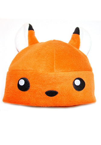 Crazyheads Kids Orange Fox Hat, 2T-4T