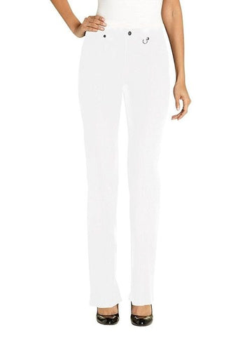UR Rebel Womens Slimming Tummy Control Pant 5302R White 10