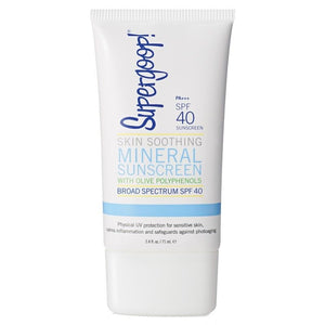Supergoop! Skin Smoothing Mineral Sunscreen with Olive Polyphenols SPF40