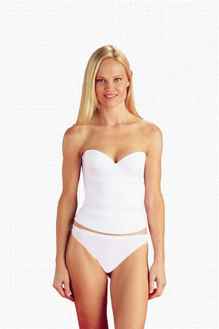La Leche League - QT - Strapless Convertible Bustier - 1100 - White - 38B