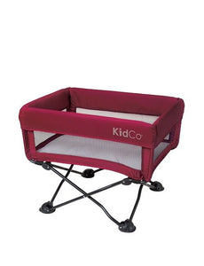 KidCo DreamPod Portable Bassinet Perfect for Traveling and Vacatoins Cranberry