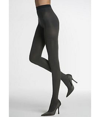 SPANX Shaping  Reversible Tight-End Opaque Tights 005B Black/Charcoal