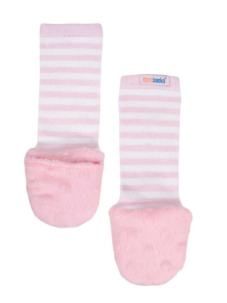Handsocks Baby Warm Furry Mittens by Handsocks Pink  X-Small