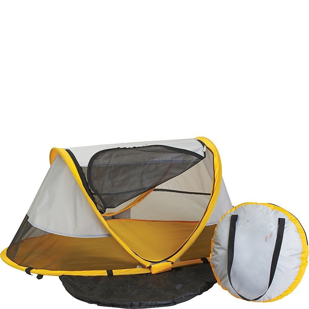 KidCo Peapod Toddler/Child Travel Bed in Sunshine Yellow