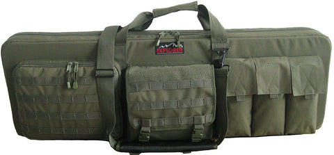 "Explorer Tactical 3 Rifles Weapon Case with Mate 46"" x 13.50-Inch Olive"